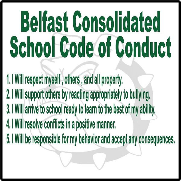 bullying school code of conduct Codes of student conduct   adoption of dress code policy for school permitted  intimidation and bullying on school property,.